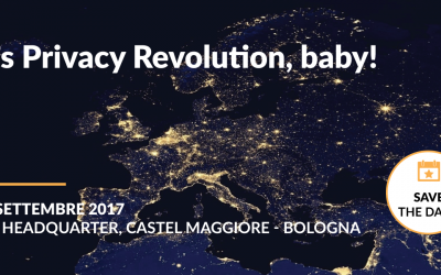 [EVENTO] Maggio 2018: it's Privacy Revolution baby – Workshop gratuito a Bologna